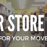 dollar store hacks for moving.