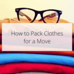 How to Pack Clothes for a Move.