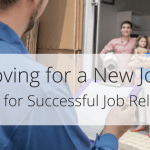 5 tips for successful long distance move for job relocation.