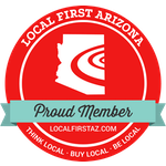 local first member badge.
