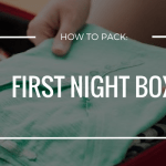 how to pack a first night box for your local or long distance move.