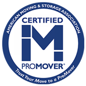 Certified M ProMover badge