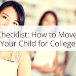 Checklist: How to Move Your Child for College