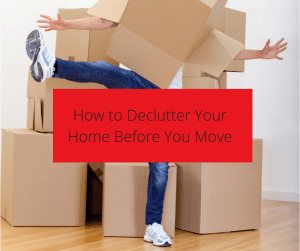 How to declutter your home before your long distance move by EZ move.