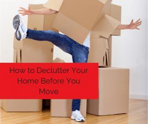 declutter your home before moving short or long distance.