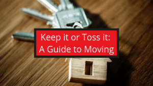 What to pack or get rid of when moving.