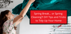 Spring cleaning DIY tips in Tucson Arizona.