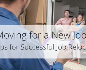 Moving for a New Job? 5 Tips for Successful Job Relocation