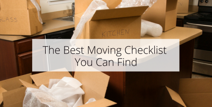 The Best Moving Checklist You Can Find